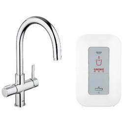 GRIFO COCINA GROHE RED DUO 4 LITROS