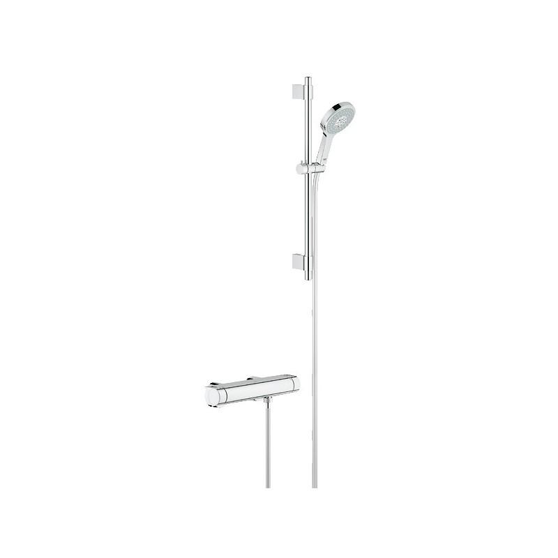Conjunto ducha termostatico grohe grohtherm 2000 new for Ducha termostatica grohe