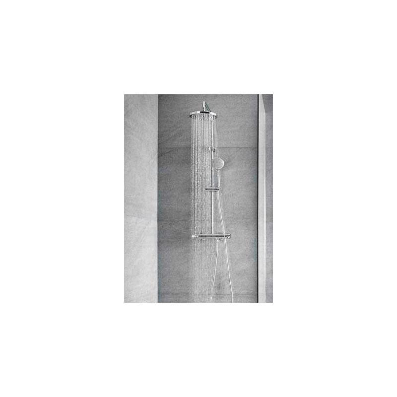 Columna ducha telescopica victoria t roca for Griferia ducha homecenter