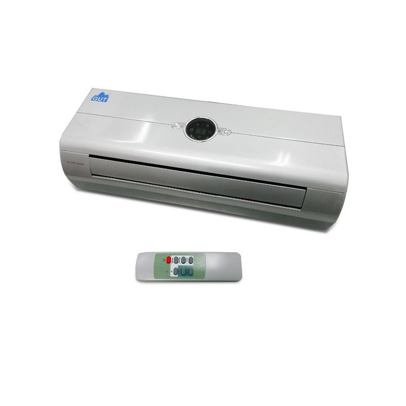 Termo split mural gut gdc015 con mando a distancia for Calefactor mural electrico