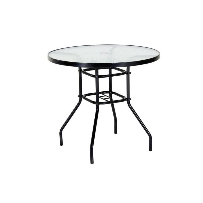 mesa redonda terraza basic