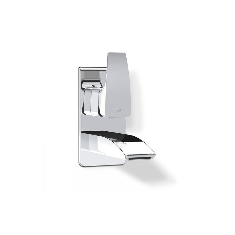 Grifo empotrable monomando lavabo thesis roca a5a4750c00 for Grifo lavabo roca