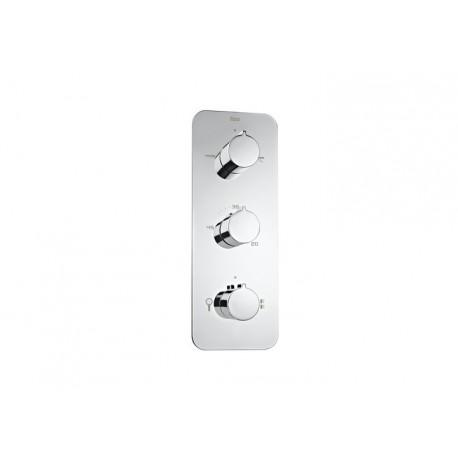 Grifo termostatico empotrado ducha puzzle 4 vias roca for Grifo termostatico ducha roca