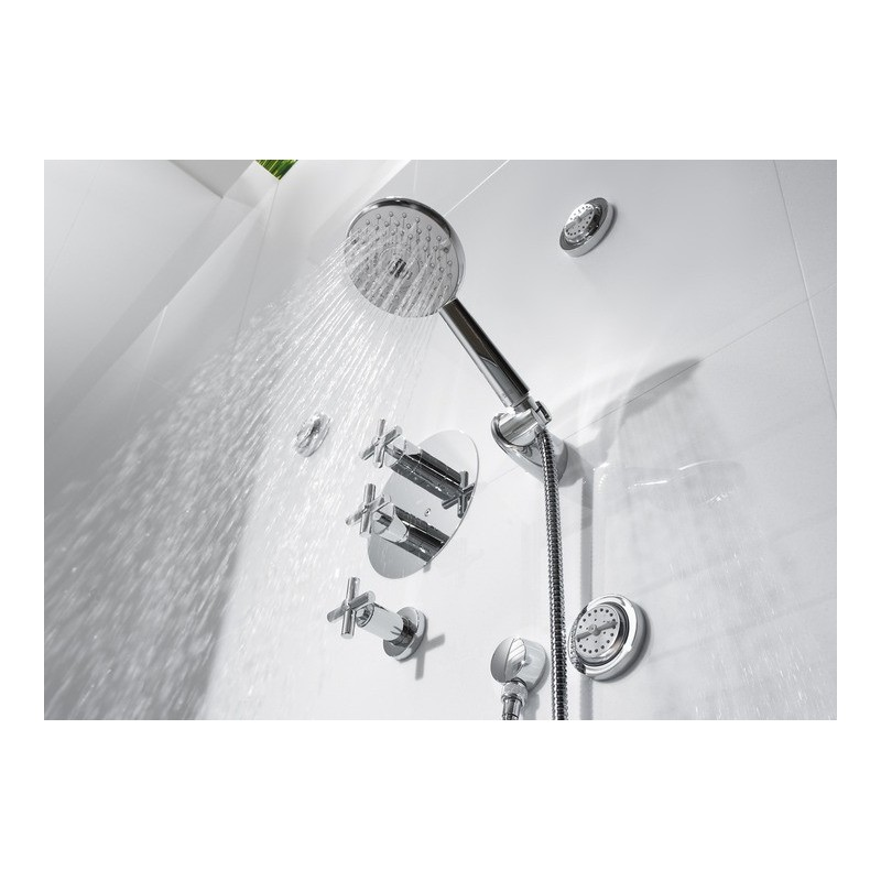 Grifo termostatico empotrado ba o ducha loft roca a5a0643c00 for Grifo termostatico ducha roca