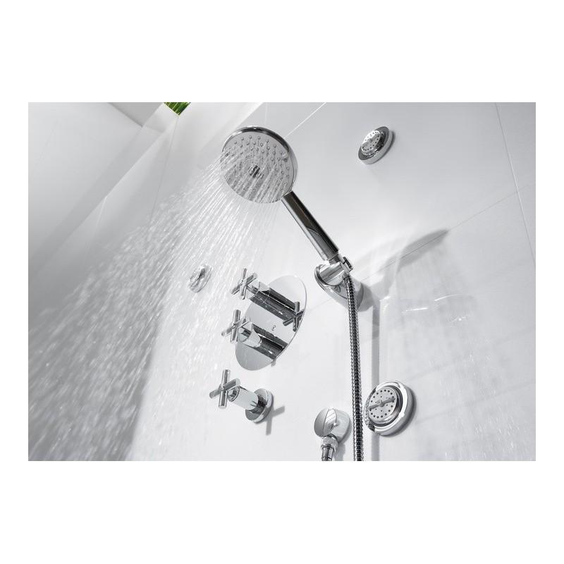 Grifo termostatico empotrado ba o ducha loft roca for Grifos de ducha roca