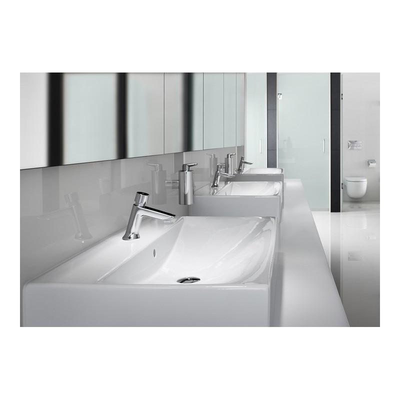 Grifo temporizado repisa lavabo instant roca for Grifo lavabo roca