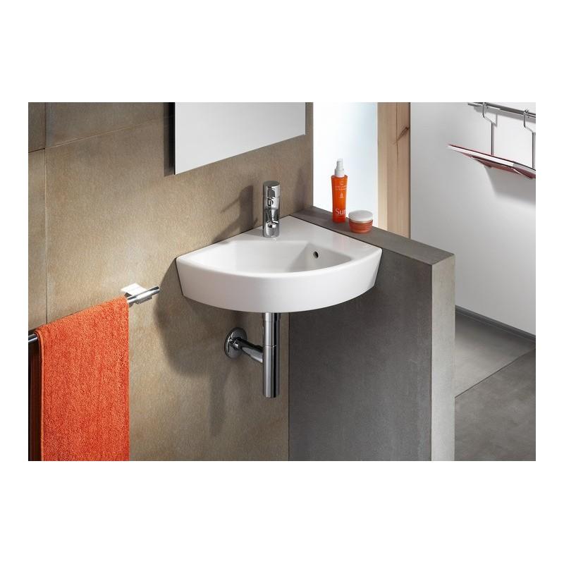 Lavabo angular hall de roca for Precios de lavabos roca