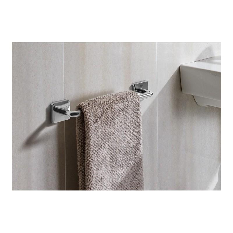 Toallero lavabo victoria roca con adhesivo o tornillos for Accesorios bano sin tornillos