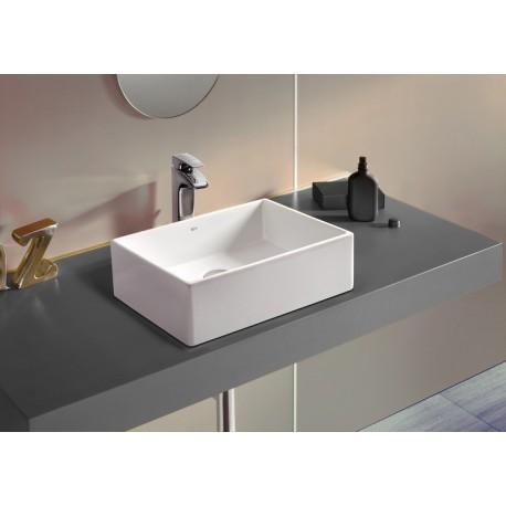 Lavabo sobre encimera sofia roca for Mueble lavabo sobre encimera