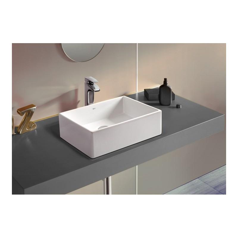 Lavabo sobre encimera sofia roca for Precios de lavabos roca