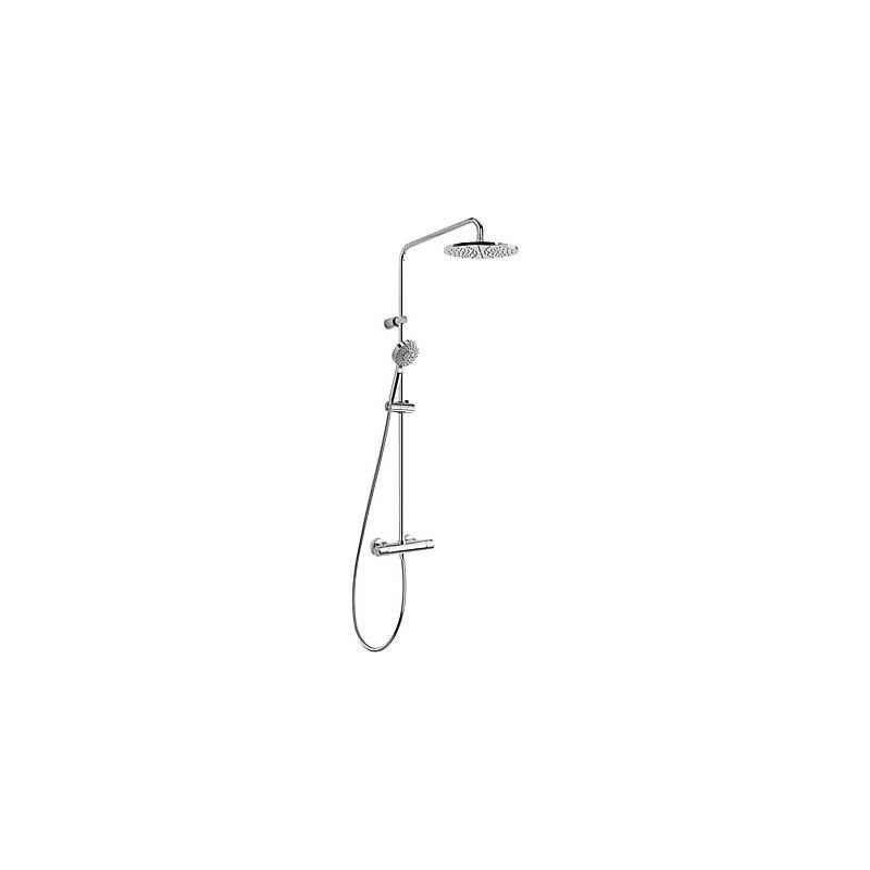 Conjunto ducha lex alplus termostatica tres for Griferia ducha homecenter