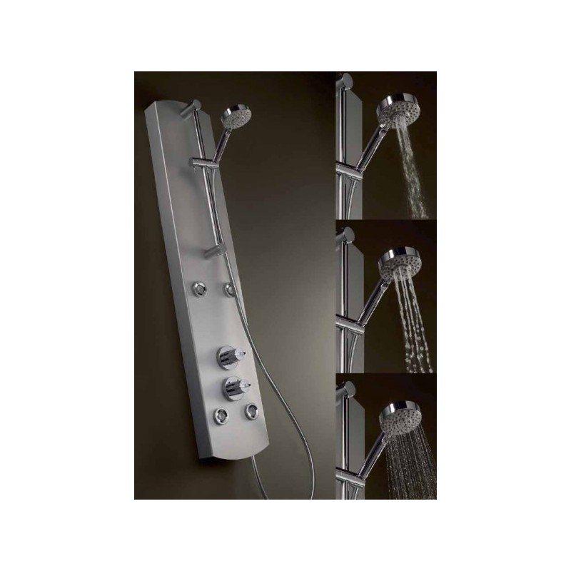 Columna de ducha termostatica lex d tres for Columna termostatica