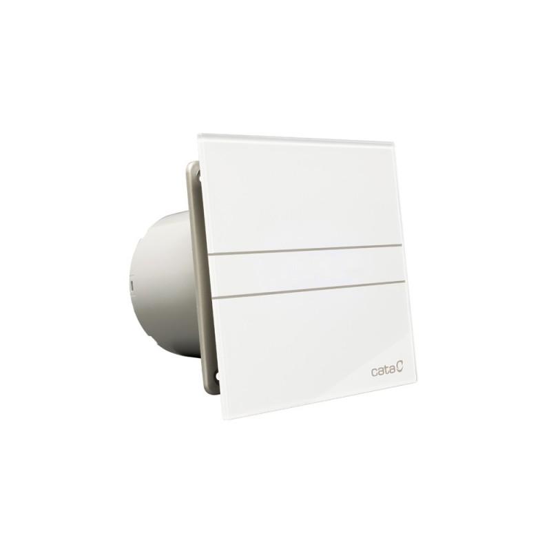 Extractor ba o glass timer e100 gt cata silencioso blanco - Extractor bano silencioso ...
