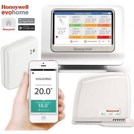 PACK EVOHOME CONNECTED POR CONTROL SMARTPHONE HONEYWELL