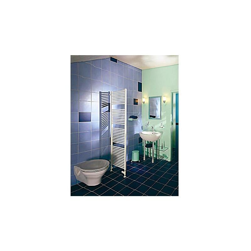 Radiador toallero electrico zehner toga blanco for Radiadores toalleros electricos