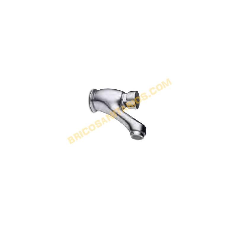 Extractor De Baño Temporizado:GRIFO LAVABO MURAL TEMPORIZADO CLEVER 96128