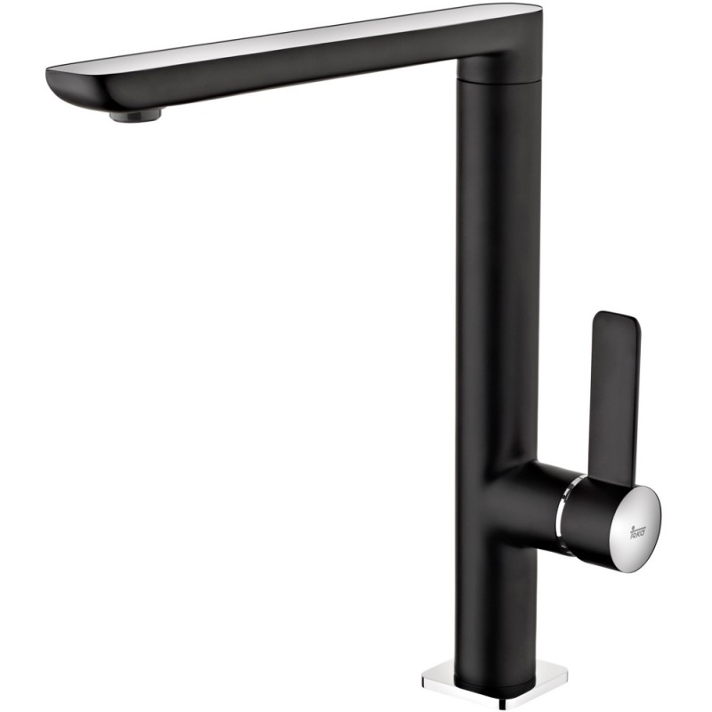Grifo teka fo 915 cn negro minimalista for Grifo cocina negro