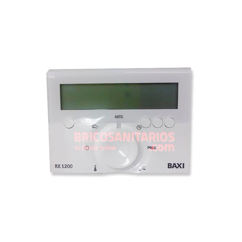 Termostato ambiente baxiroca rx 1200 programable inalambrico for Baxi termostato ambiente