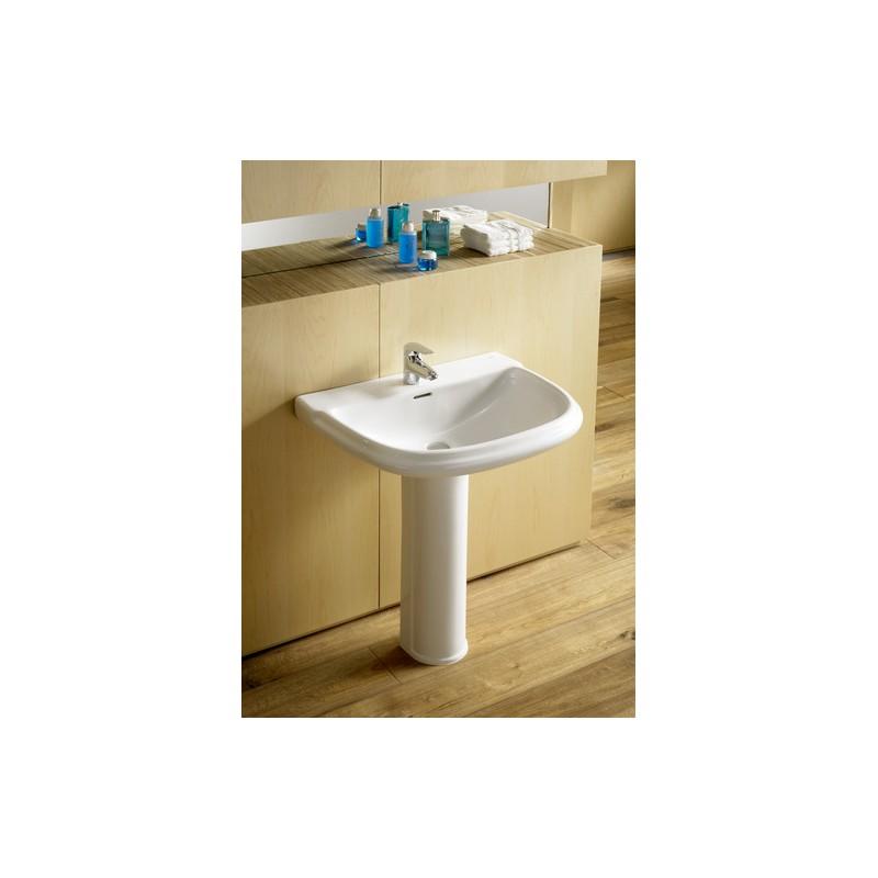 lavabo dama retro roca pedestal. Black Bedroom Furniture Sets. Home Design Ideas