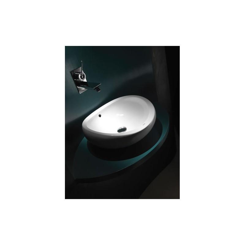 Lavabo sobre encimera urbi 1 roca for Precios de lavabos roca
