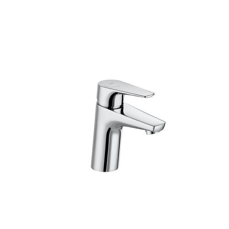 cuerpo liso cromado Roca A5A3D90C00 monomando lavabo caño mezzo coleccion Atlas Cold Start