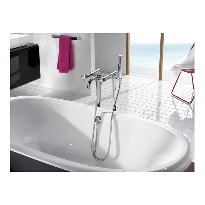 Grifo bimando ba o ducha roca loft 5a2743c00 for Griferia ducha homecenter