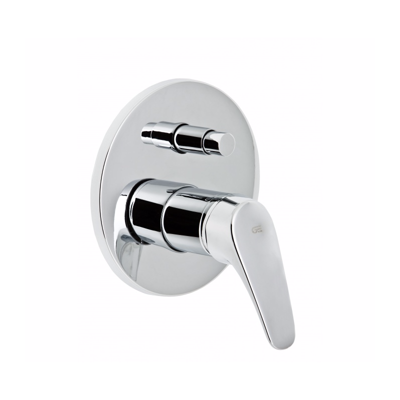 Grifo genebre ba o ducha empotrar ge2 for Juego de grifos de bano