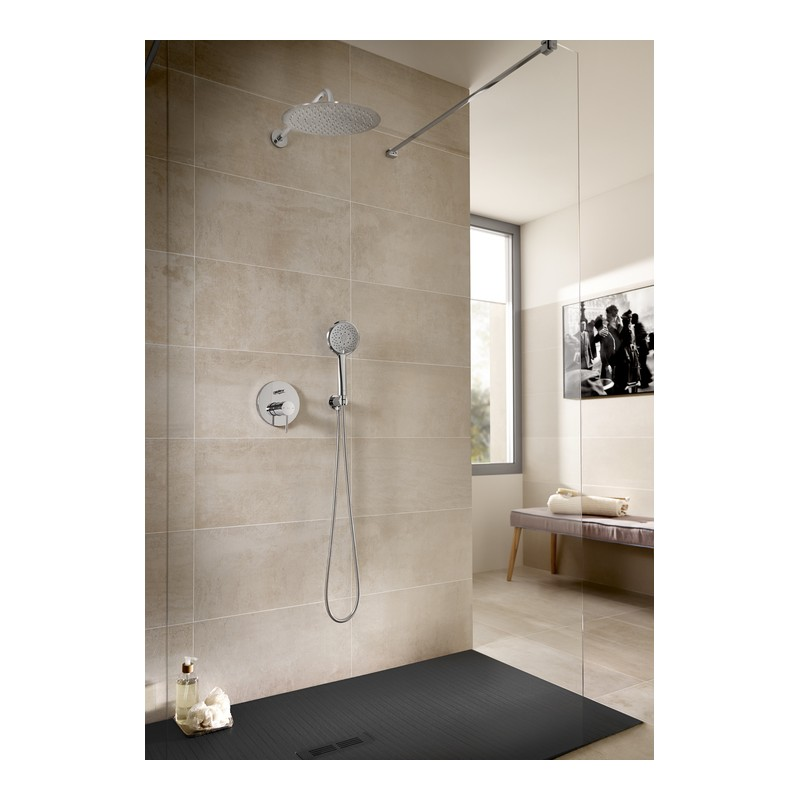 Grifo monomando empotrable ba o ducha lanta roca a5a0b11c00 - Grifos para bano ...