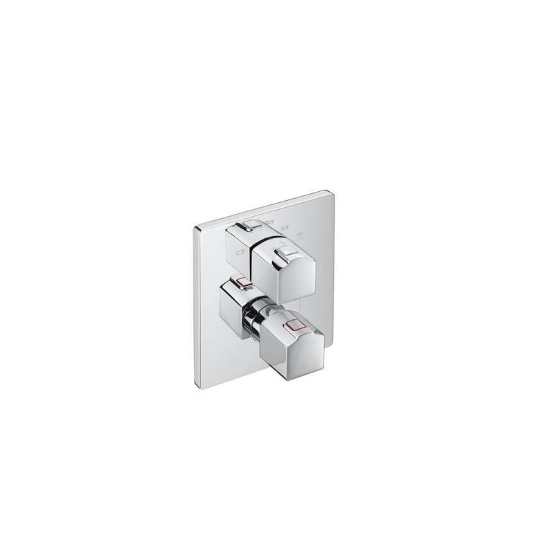 Grifo termostatico empotrable ba o ducha l90 roca - Grifo termostatico ducha precios ...