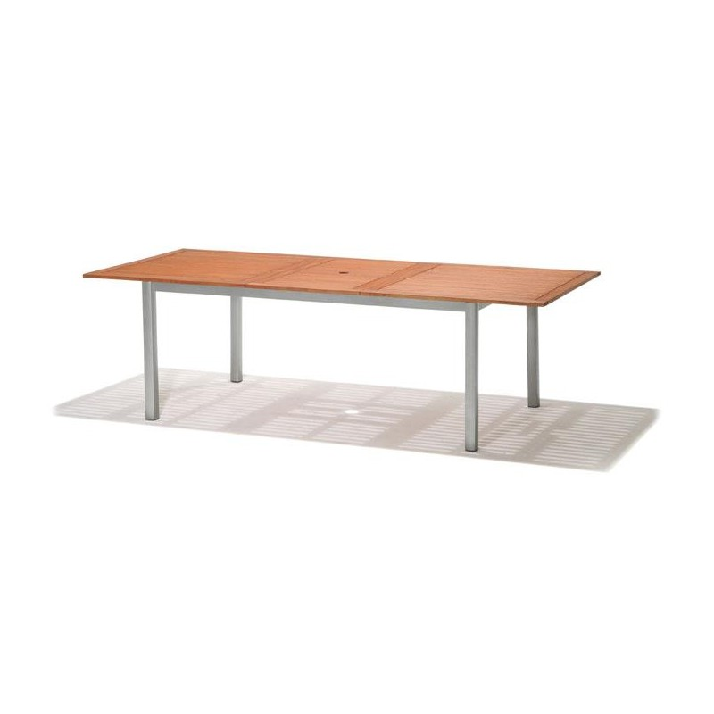 Mesa Jardin Extensible Rectangular Madera Nautic