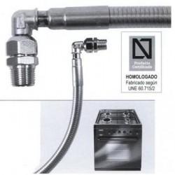 CONEXIÓN FLEXIBLE PRESINOX 1000mm G.N