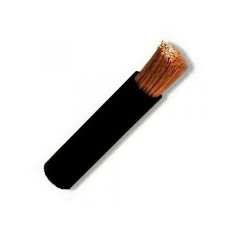 CABLECILLO FLEXIBLE 1,5 MM *100 MTS* NEGRO