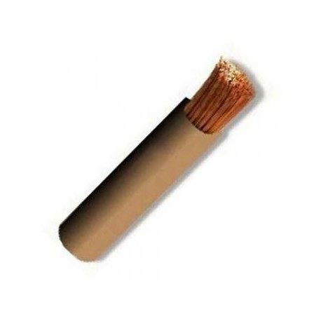 CABLECILLO FLEXIBLE 1,5 MM *100 MTS* MARRON