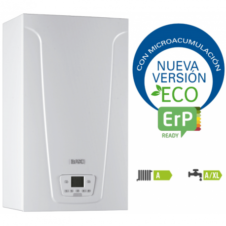 CALDERA NEODENS PLUS ECO 33/33 F GAS NATURAL PROPANO BAXI